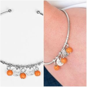 TOTALLY TAHOE ORANGE CUFF BRACELET